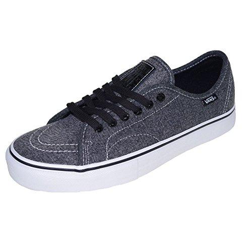 Vans AV Classic (Rubber) Black/White (acid wash) black