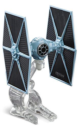 Hot Wheels Star Wars Starship Blue TIE Fighter Vehicle by Mattel