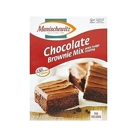 Manischewitz Passah Schokolade Brownie-Mix 340G - Packung mit