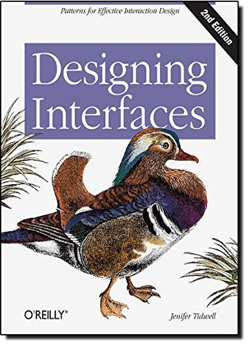 Designing Interfaces por Jenifer Tidwell