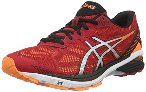 Asics Men's Gt-1000 5 Training Shoes, Red (Red), 9 UK (44 EU)