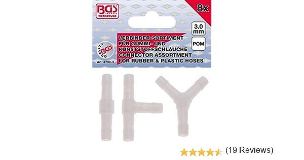 BGS 8790-6 Schlauchverbinder-Sortiment 6 mm