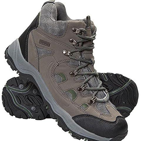 Mountain Warehouse Chaussures Homme Randonnée Imperméable Boots Marche Adventurer Kaki 43
