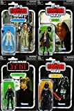 Hasbro Star Wars Bundle Princess Leia, Han Solo, Luke Skywalker & Darth Vader The Vintage Collection