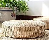 tessuto a mano tatami cuscino da pavimento mais mais Husk, M(40x11cm)