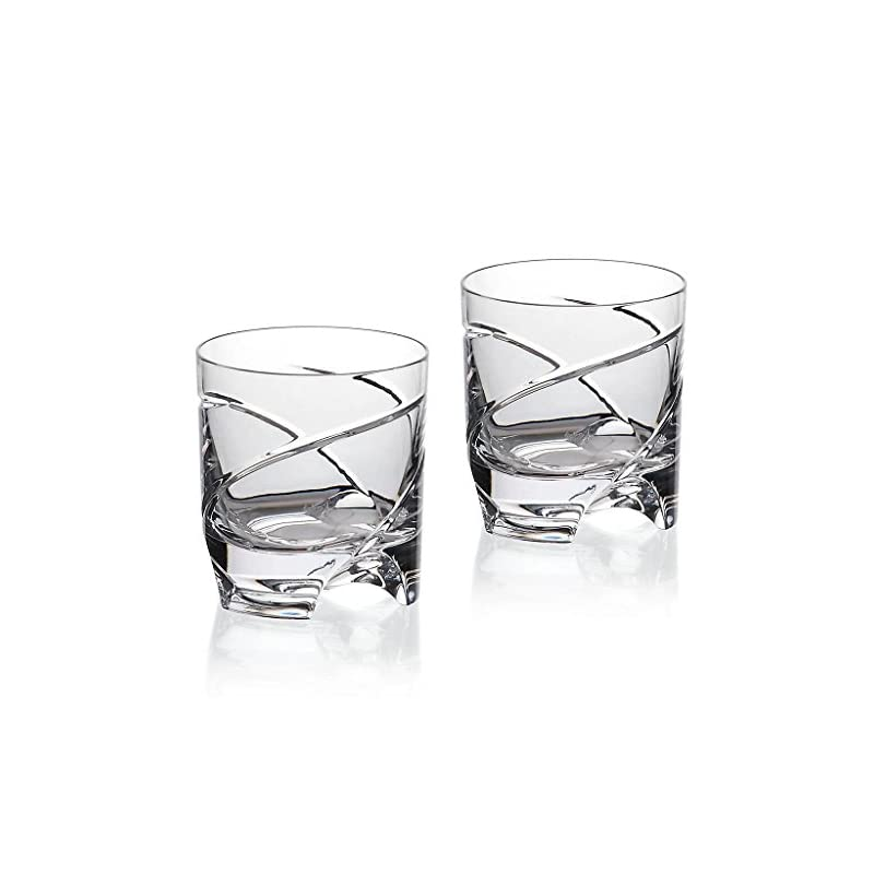 2er Set Whiskeyglas Whiskeybecher Whiskystamper German Roulette Dresden 225ml Transparent Rotation Bleikristall Glas German Crystal Powered By Cristalica