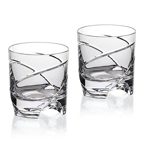 2er Set Whiskeyglas Whiskeybecher Whiskystamper German Roulette Dresden 225ml Transparent Rotation Bleikristall Glas German Crystal Powered By Cristalica