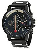 Bailin Black Dial Analogue Watch With Co...