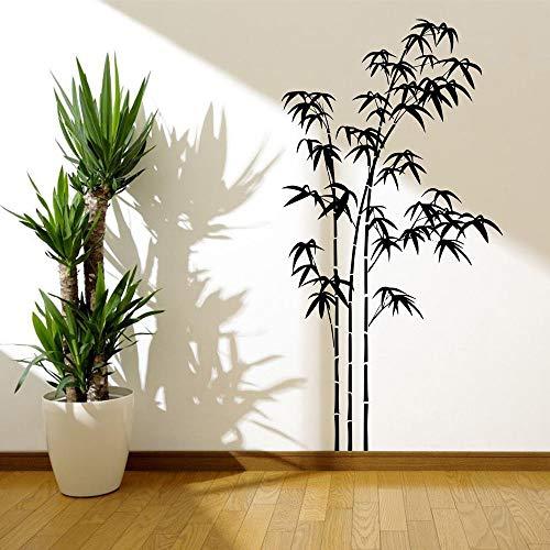 r Wandtattoo Schlafzimmer Bambus Pflanze Muster Wand Kunst Aufkleber Sticker Wand Wohnzimmer Home Decor ()