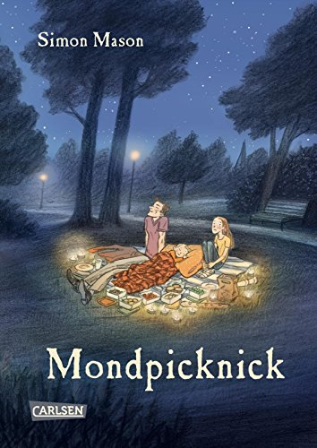 Buchseite und Rezensionen zu 'Mondpicknick' von Simon Mason