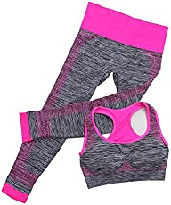 Italish Stretchable Breathable Sports Track Gym Yoga Suits For Women