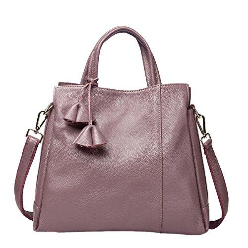 Pelle Delle Donne Faux Borse Messenger Bag Borse Delle Signore Multicolore Pink