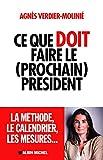 Telecharger Livres Ce que doit faire le prochain president (PDF,EPUB,MOBI) gratuits en Francaise