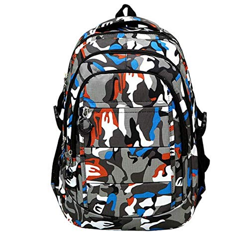 NMGNCBHH Design Mode Camouflage Nylon Climb Bag Schulter Bookbags Satchel Reiserucksack - Camouflage Nylon-schulter-bag