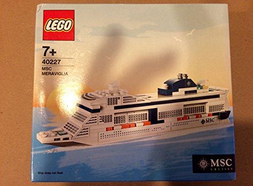 Lego 40227 MSC Cruises Meraviglia Edizione Speciale