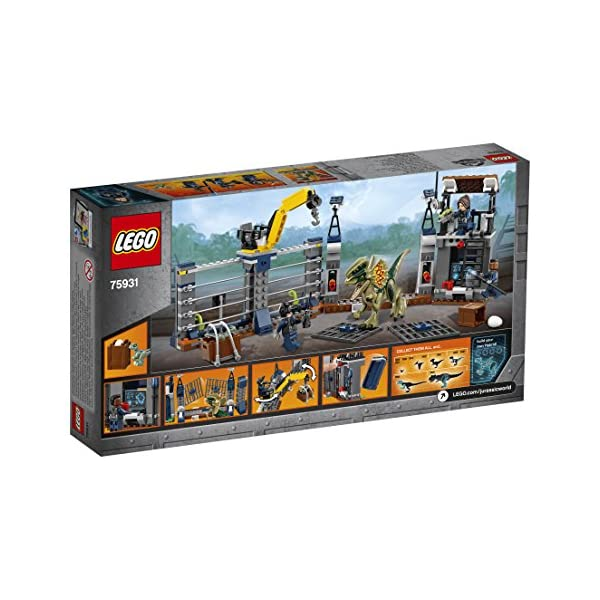LEGO Jurassic World 75931 - Set di dinosauri 4 spesavip