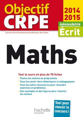 CRPE en fiches : Mathématiques par Alain Descaves