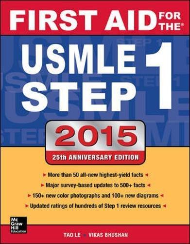 First Aid for the USMLE Step 1 2015 (First Aid USMLE) por Tao Le