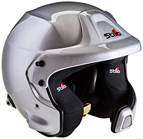 Stilo aa0210bg2m59WRC des composito Electro Rally casco, 59