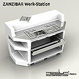 Bancone Bar Luminoso Zanzibar ATTREZZATO Acciaio Inox