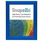 Blau Snap Rahmen 20,3x 25,4cm, 2,5cm schmal Aluminium Profil, Frontlader Display, Wandhalterung