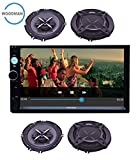 Best Double  Stereo - Woodman Doubledin WM-2020 With FM/Bluetooth/Usb (1080px Full Hd) Review