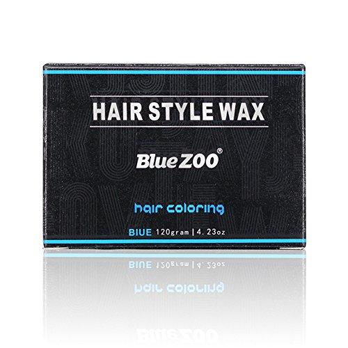 bulary Hair Color Wax temporäre DIY Hair Wax Professional Hair pomades natur Einweg Haar Dye Wachs Haar Creme für Cosplay, Maskerade, Halloween 120g