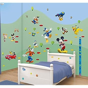 Walltastic Disney Mickey Mouse Clubhouse Room Decor Kits, Multi Colour