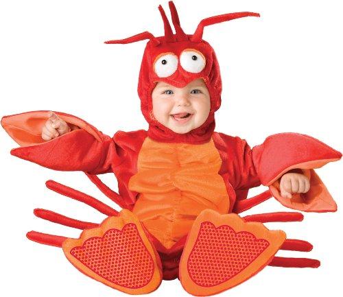 Garnelen Kostüm für Babys - 6-12 (Für Kostüm Kinder Garnelen)