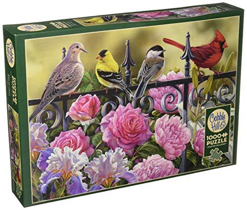 Cobblehill 80114 - Puzzle de 1000 pájaros en una Valla
