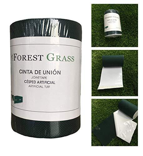 Forestgras 15,2 cm x 50er Kunstrasen selbstklebend Naht Rasenband 15,2 cm x 15,2 m