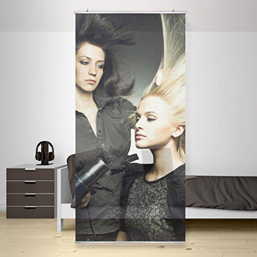Panel japones Beauty Salon, Tamaño: 250 x 120cm, panel japonés, paneles japoneses, separadores de ambientes, cortina, paneles japoneses cortina,