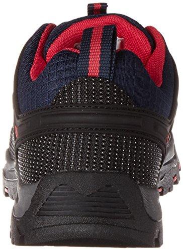 C.P.M. Rigel, Chaussures de Randonnée Basses Mixte Adulte Bleu (Black Blue)