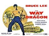 WAY OF THE DRAGON – Bruce Lee – US Imported Movie Wall Poster Print – 30CM X 43CM Brand New