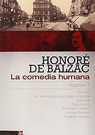 La comedia humana volumen 1 par Honoré de Balzac