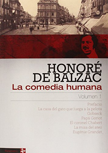 La comedia humana 1 por Honoré De Balzac