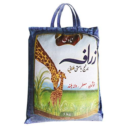 Nadi Zarafa White Basmati Rice, 1er Pack (1 x 5 kg)