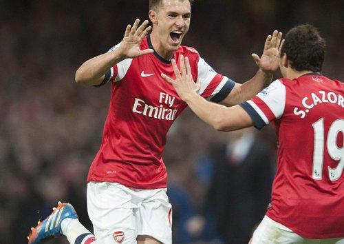 Aaron Ramsey 6–A4–Arsenal - Inspirierende Fußball