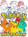 How to Draw Pokemon: Easy Step-by-step Drawing Guide, Pokemon 2 in 1: How to Draw and Pokemon Coloring Book for Adults and Kids, For Anyone Who Loves Pokemons. por Independently published