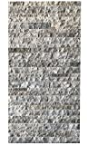 Wohnrausch Travertin 3D Wandverkleidung, hell- bis dunkelbeige, W3DC