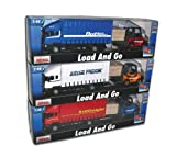 Diecast Metal Load and Go Set - Freight Truck with Forklift and Pallet - Transport Vehicle Toys - Boys Toys