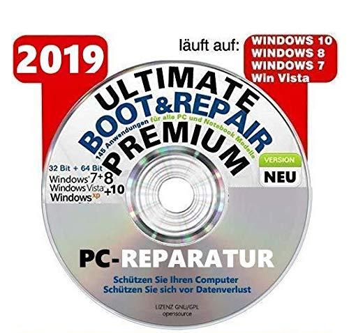 Ultimate Boot & Repair PREMIUM Ultimate Boot-CD / Notfall-CD für Windows Betriebssysteme System Diagnose Tools ORIGINAL von STILTEC ©