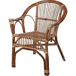 AiO-S - OK Sessel aus Kubu-Rattan Gartensessel Gartenstuhl ca. 60 x 66 x 86,5 cm Natur