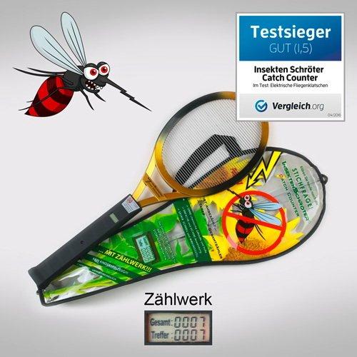 InsektenSchröter 7902 Elektronische Fliegenklatsche inklusive CatchCounter