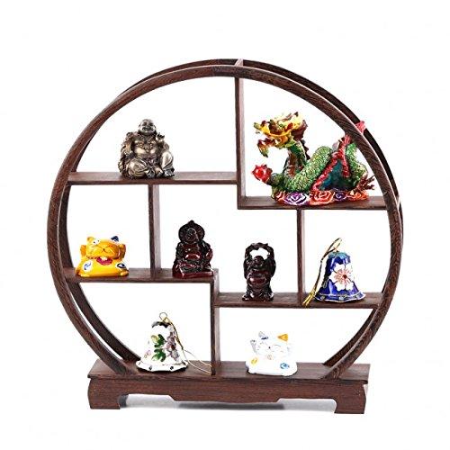 MEUBLE CHINOIS MINIATURE - Rangement Objets et Figurines - Tradition Asiatique - Palissandre