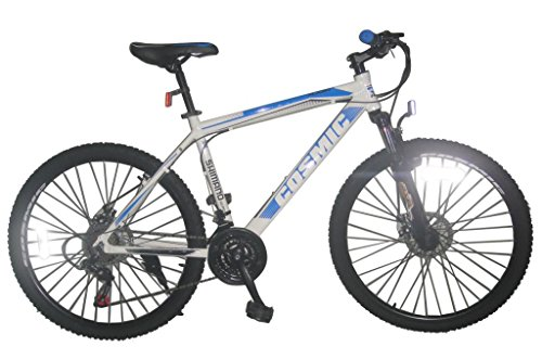 cosmic flash mtb 21 speed bicycle, kid's 26-inch (white/blue) Cosmic Flash MTB 21 Speed Bicycle, Kid's 26-inch (White/Blue) 51I 2Bjaox5 2BL