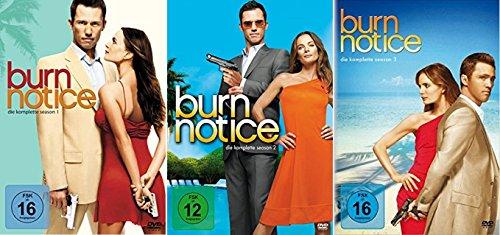 Burn Notice Staffel 1-3 (1+2+3) [DVD Set]