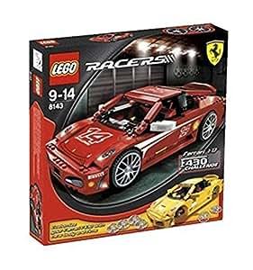 lego racers jeu de construction ferrari f430 challenge jeux et jouets. Black Bedroom Furniture Sets. Home Design Ideas