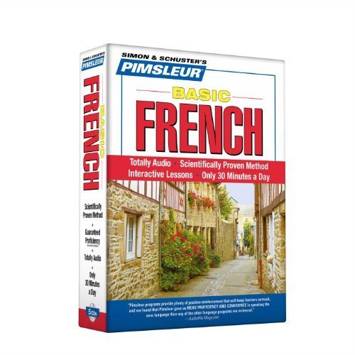 Pimsleur French Basic Course - Level 1 Lessons 1-10 CD: Learn to Speak and Understand French with Pimsleur Language Programs by Pimsleur (2005-09-06)