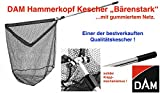 DAM Kescher Baerenst. 60X60 3 Tlg. Gummi